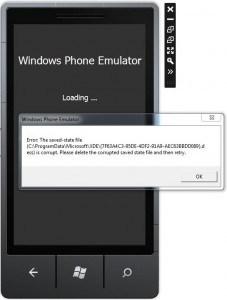 Błąd Emulatora